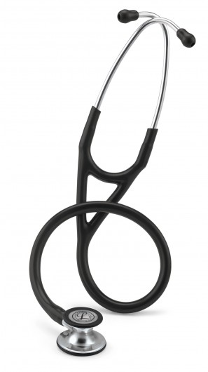 Littmann Cardiology IV Stethoscope: Black - Mirror Finish 6177