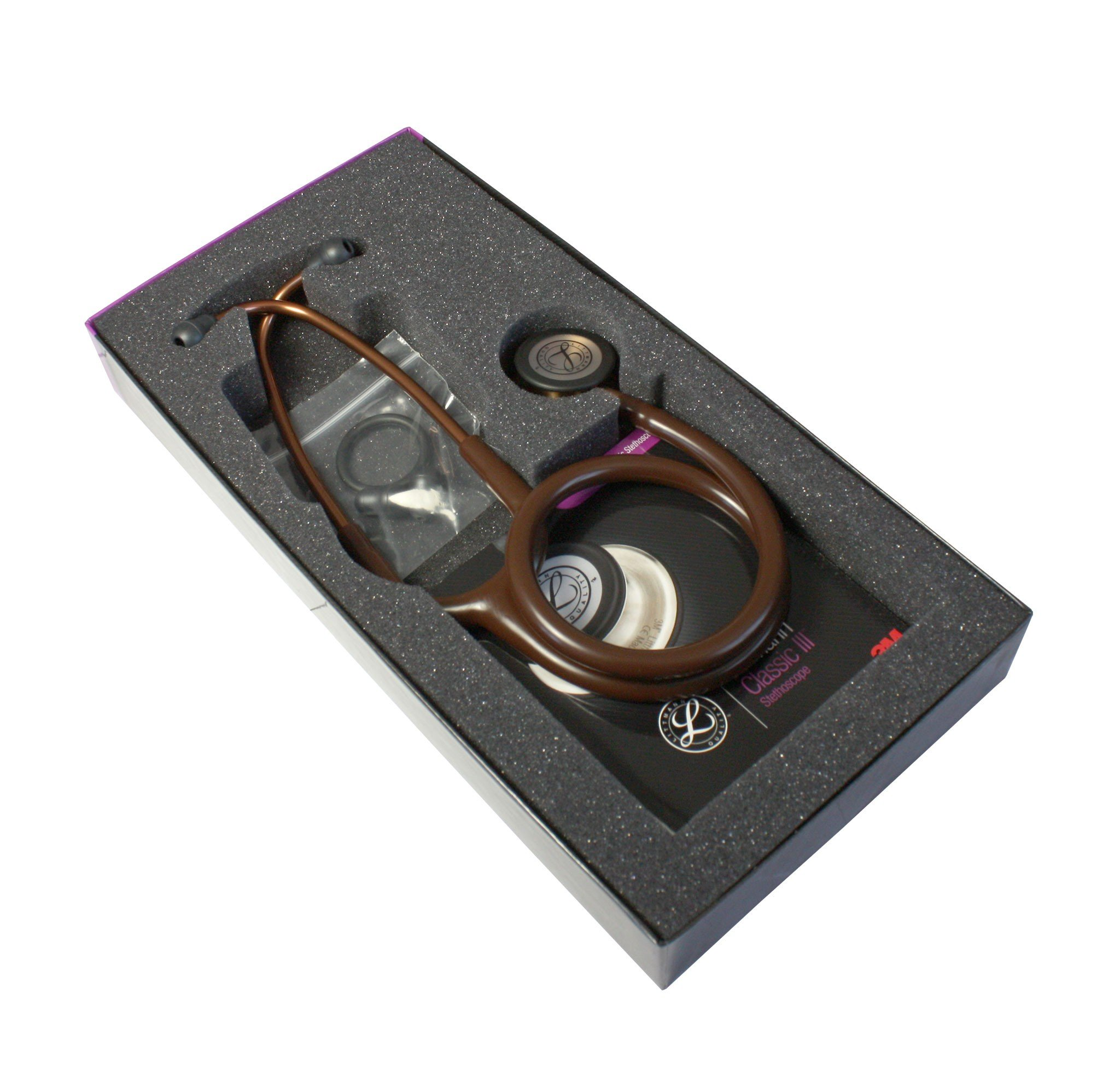 3m littmann classic iii stethoscope chocolate copper 5809 for Classic 3