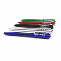 Medisave LED Pen Torch / Stylus / Ballpoint 3-in-1