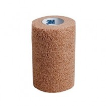 3M Coban Self-Adherent Bandage - Flesh - 2.5cm x 4.5m