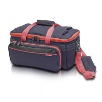 GP's Light medical bag - Grey and Salmon pink