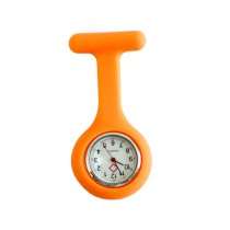 Nurses Fob Watch - Orange