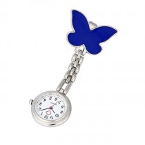 Butterfly Fob Watch - Dark Blue