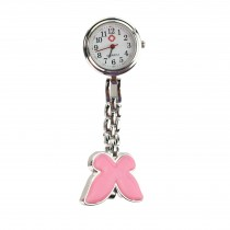 Butterfly Fob Watch - Pink