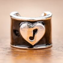 CharMED Stethoscope Charm -  Music Note Charm